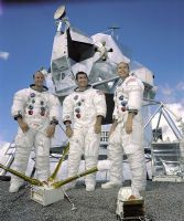 NASA Apollo 12 Official Crew Photograph